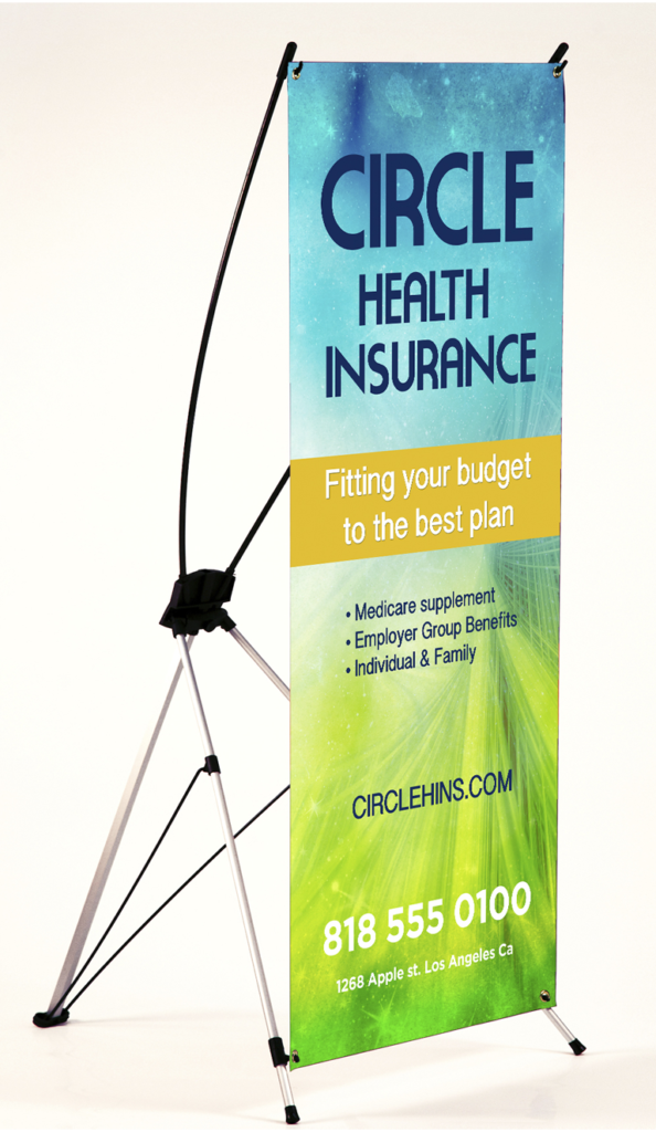 """""""X-STYLE"""" COLLAPSIBLE BANNER STANDS"""